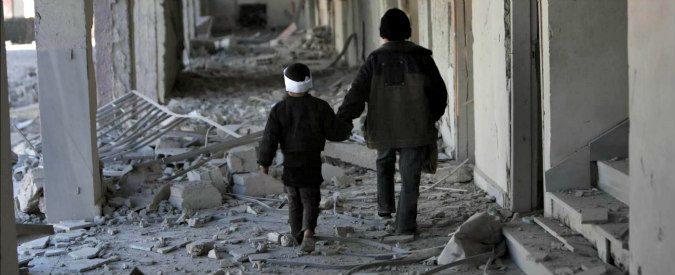 Siria, morire di fame a Damasco a un mese di vita. Per propaganda