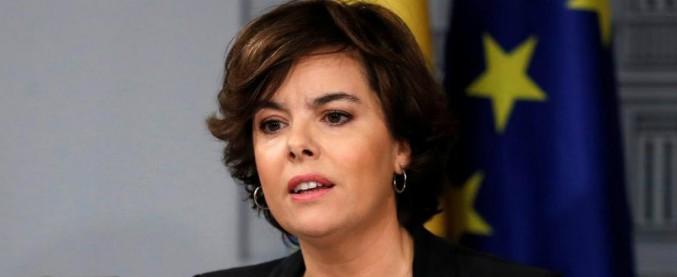 Spagna: chi è Soraya Saenz de Santamaria, 'vicerè' di Catalogna che aspira a prendere il posto di Rajoy