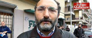 """Ostia, giornalisti in presidio dopo le violenze. Lillo: """"In Italia la verità si deve poter cercare dappertutto"""""""
