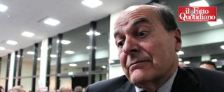 "Pd-Mdp, Bersani risponde a Renzi: ""Niente ammucchiate. Pd non è sinistra"". Ma lascia comunque ""la palla di là"""