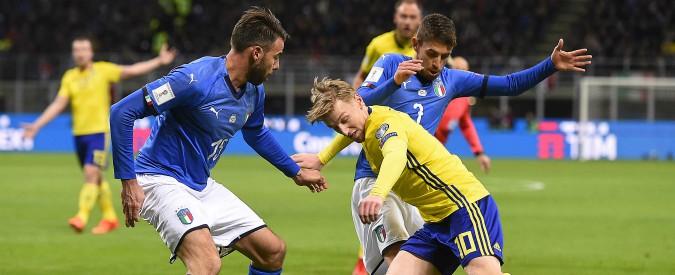 Italia-Svezia 0-0: la rimonta non c'è, la nazionale azzurra non andrà ai mondiali di Russia 2018