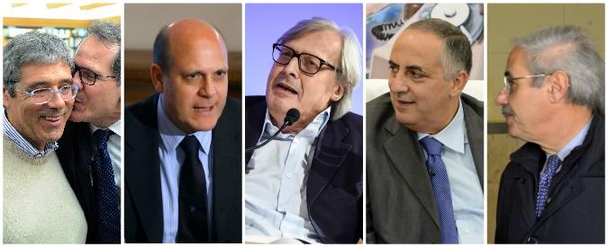 Sicilia, la corsa alle poltrone guarda al passato: con Musumeci tornano gli uomini di Cuffaro, Lombardo e del 61 a 0