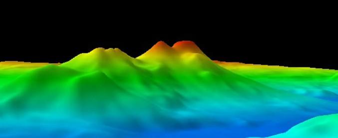Mar Tirreno, scoperti 7 vulcani sottomarini. Fanno parte della 'catena del Palinuro'