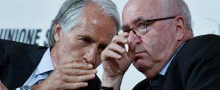 Italia-Svezia 0-0, Tavecchio: 'Domani incontro per decidere'. Malagò: 'Fossi in lui mi dimetterei'. Lotti: 'Rifondare tutto'