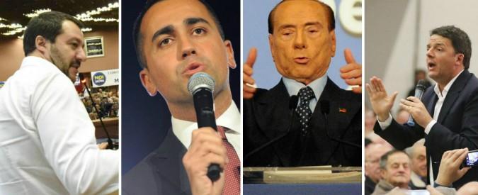 """Frasi fatte, strafalcioni, insulti: così (male) parlano i politici per apparire 'uno di voi'. """"Di Maio, Renzi, Salvini? Figli di B"""""""