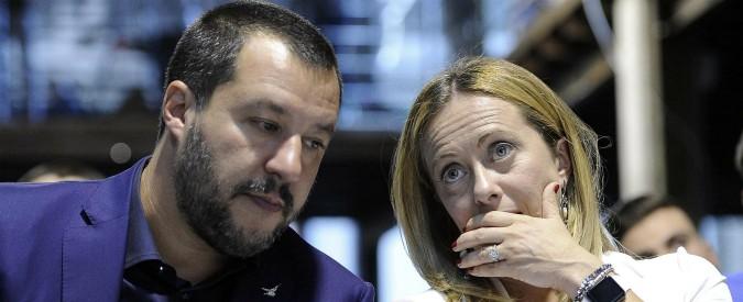 """Italia-Svezia 0-0, Salvini e Meloni: """"Fuori dai mondiali per colpa dei troppi stranieri nel nostro calcio"""""""