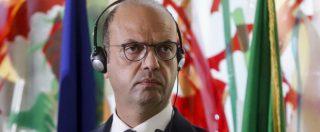 """Patto """"disumano"""" Italia-Libia, Alfano parla ma non risponde alle accuse dell'Onu: """"Dia meno lezioni e più fondi"""""""