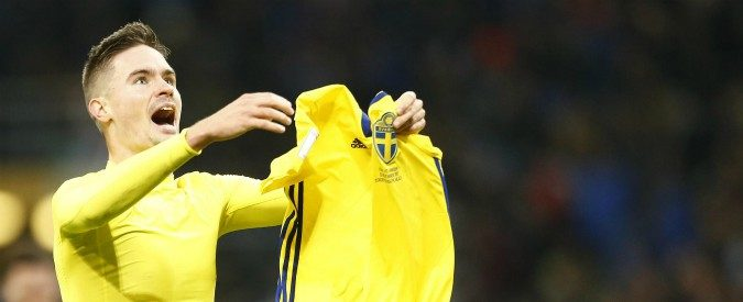 Italia-Svezia, un nome per il dopo Tavecchio: il terzino Mikael Lustig