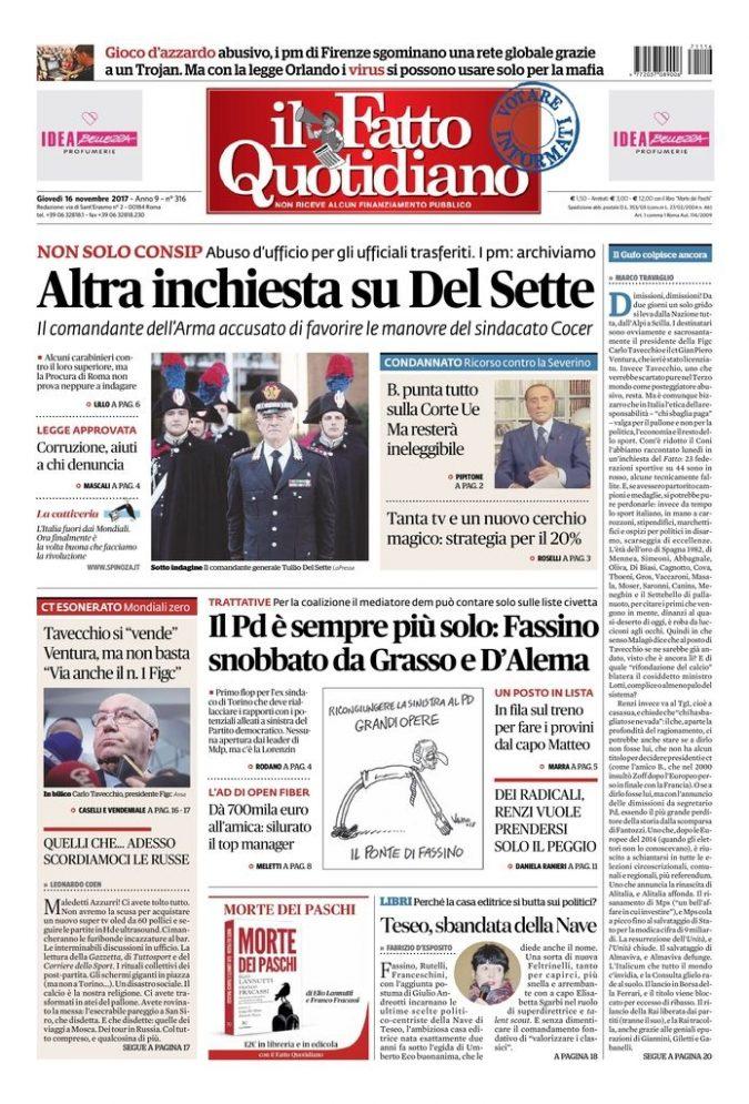 9e864d7fff Archivi Edizioni In Edicola - Page 43 of 103 - Il Fatto Quotidiano