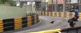 GP Macao, incidente mortale per Daniel Hegarty. Il motociclista britannico sbalzato contro il guardrail