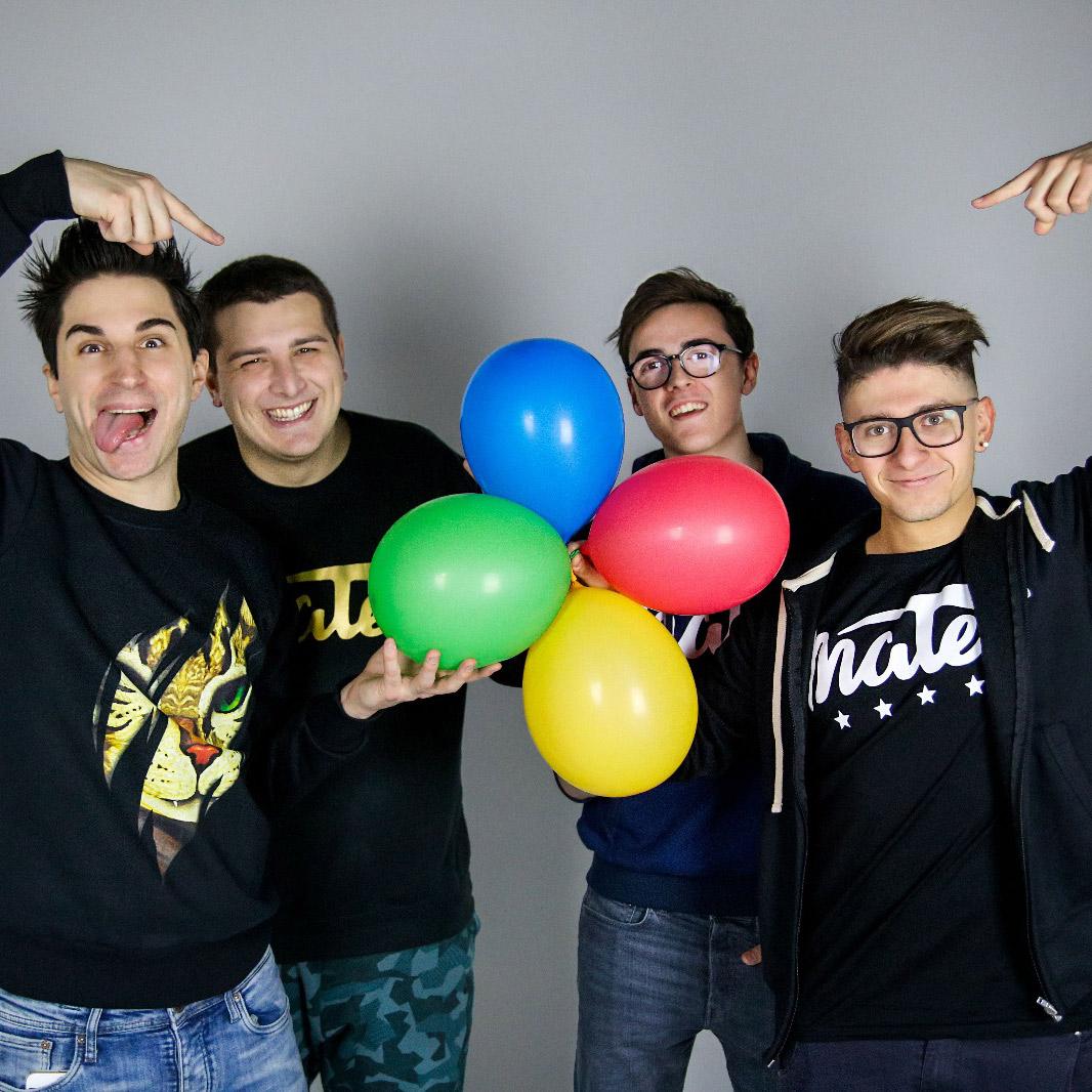 I Mates, da un'amicizia e una passione comune ad uno dei più seguiti gruppi di youtuber italiani