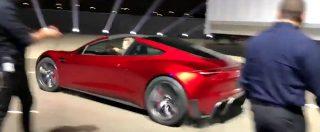 """L'accelerazione della nuova Tesla Roadster 2 è da brividi: """"Sembra di stare sulle montagne russe"""""""