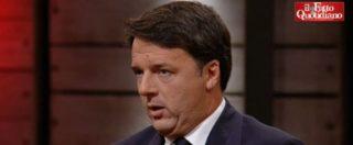 """Renzi: """"Di Maio? Il nulla, come direbbe Gene Gnocchi. Non è serio scappare"""""""