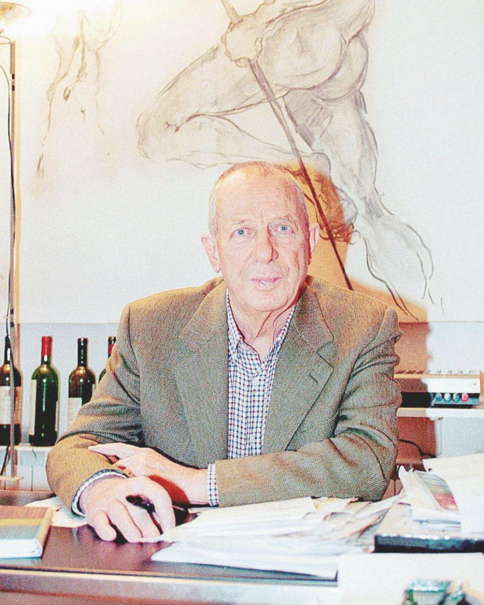 L'enologo anarchico – Luigi Veronelli (1926-2004), enologo, cuoco, gastronomo, e scrittore – LaPresse