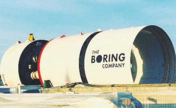La rivoluzione sotterranea dei trasporti firmata  Elon Musk
