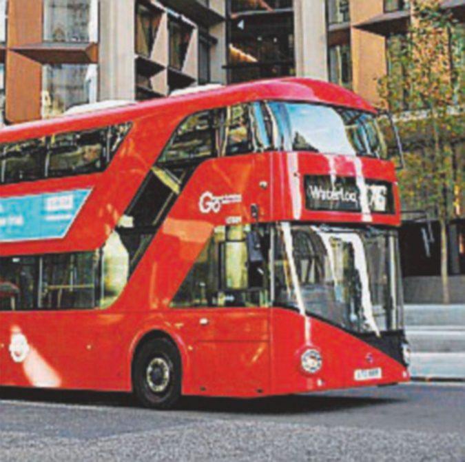Bus caffettiera: fondi di caffè per i double-decker di Londra