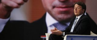 """Renzi a Porta a Porta: """"Alla nostra sinistra 29 sigle, con alcune si può ragionare. No all'articolo 18 per accordarsi con Mdp"""""""