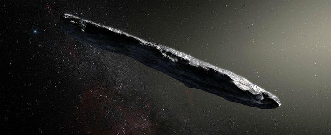 """Oumuamua, l'ipotesi di due studiosi di Harvard: """"Oggetto artificiale"""""""