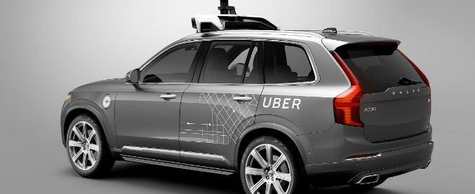 Uber-Volvo, accordo high-tech per la guida autonoma