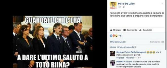"""""""Boschi e Boldrini ai funerali di Riina"""". La sottosegretaria: """"Fake news, passato il limite"""". Il M5s prende le distanze"""