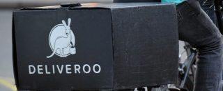 """Deliveroo estende la copertura assicurativa per i rider: """"Rimborso a chi non può lavorare dopo un incidente"""""""