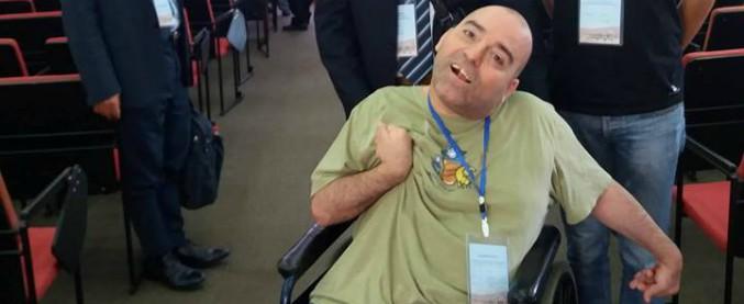"""Sicilia, fisico nucleare disabile fa sciopero della fame: """"La Regione non dà un euro per la mia assistenza"""""""