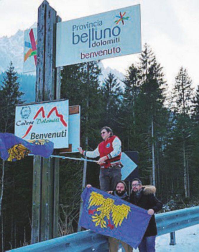 Sappada scappa in Friuli verso l'Austria