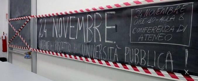 Il Black Friday dell'università italiana