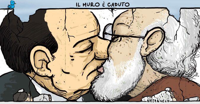 Scalfari e Berlusconi