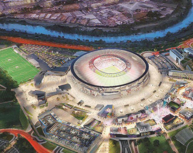 Nuovo stadio dell'As Roma: il ponte lo pagherà lo Stato