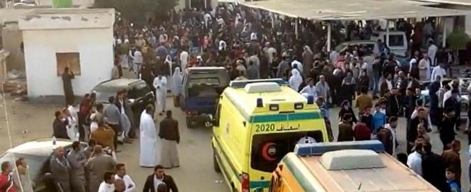 """Attentato in Sinai, nuovo bilancio: """"305 morti, di cui 27 bambini"""". La procura: """"Assalitori avevano la bandiera dell'Isis"""""""