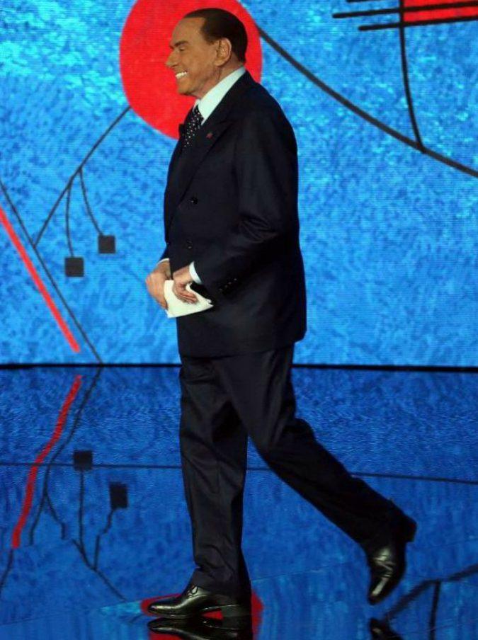 """Ascolti tv, Berlusconi aiuta Fazio ma non troppo. La serata la stravince come sempre """"Rosy Abate"""""""