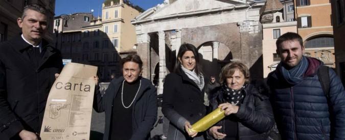 beni di consumo vendita outlet stile di moda del 2019 Roma, raccolta differenziata con chip: parte la ...