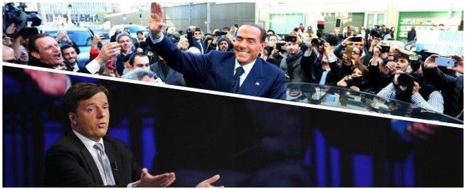 Renzi & Berlusconi, la domenica delle palle