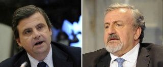 """Tap, Emiliano attacca Calenda: """"Cantiere sembra Auschwitz. Lui difende le lobby"""". Ministro: """"Pronti per le scie chimiche"""""""