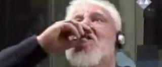 Ex Jugoslavia, generale croato beve veleno in aula dopo la condanna a 20 anni e muore