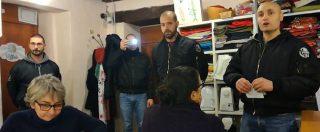 """Skinhead di estrema destra fanno irruzione nella riunione di Como senza frontiere: """"Nessun rispetto per voi"""""""