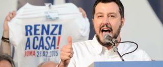 """Como, Salvini strizza l'occhio ai naziskin: """"Problema è Renzi, non presunti fascisti"""""""
