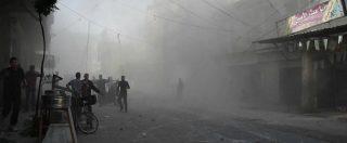 """Ghouta est, i bambini in strada: """"Raid aerei sulle scuole, non possiamo andarci"""""""