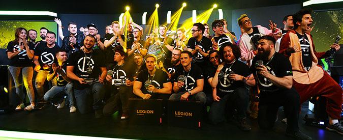 Legion GTX Challenge: Lenovo mostra il top della sua gamma da gaming nel torneo dominato dal team tedesco