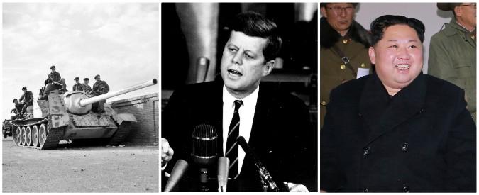 Nord Corea-Usa, l'incubo atomico 60 anni dopo: dalla crisi di Suez alle minacce di guerra tra Donald Trump e Kim Jong-un