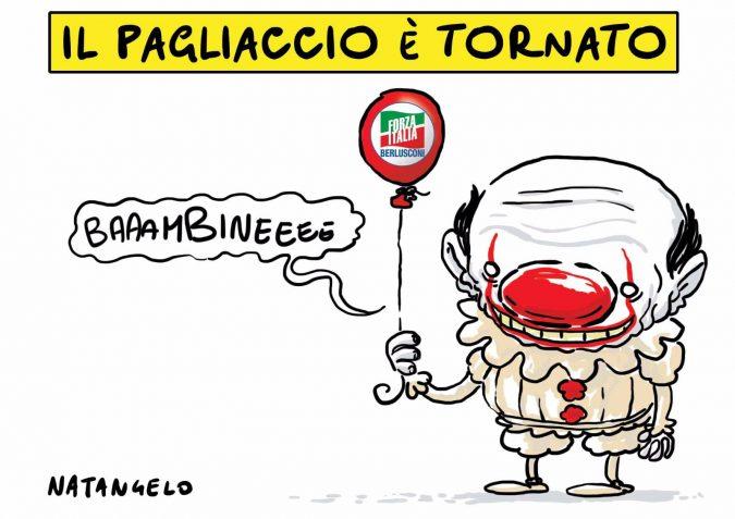 Berlusconi torna in campo