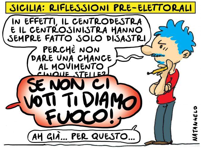 Sicilia, riflessioni pre-elettorali