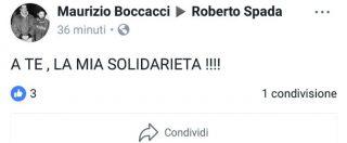 """Ostia, l'estremista di destra Boccacci sta con Spada: """"A te va la mia solidarietà"""". I fan su Facebook: """"Giornalista terrorista"""""""