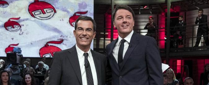 """Matteo Renzi: """"Non ho l'ansia di tornare a Palazzo Chigi. Berlusconi? Ho tutto l'interesse che sia della partita"""""""
