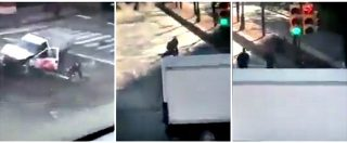New York, l'arresto dell'attentatore filmato da alcuni testimoni