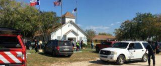 """Usa, sparatoria in una chiesa in Texas. Media locali: """"Si temono almeno 27 morti. Ucciso l'assalitore"""""""