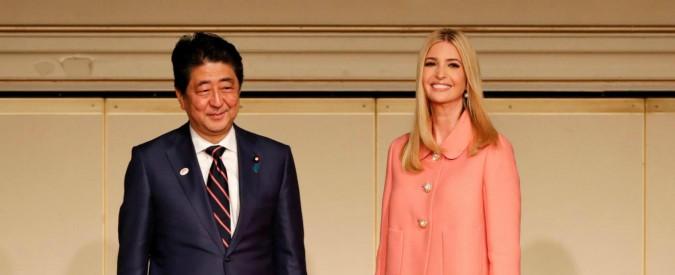"""Ivanka Trump a Tokyo: """"Molestie intollerabili. Poteri alle donne per risolvere i problemi del mondo"""""""