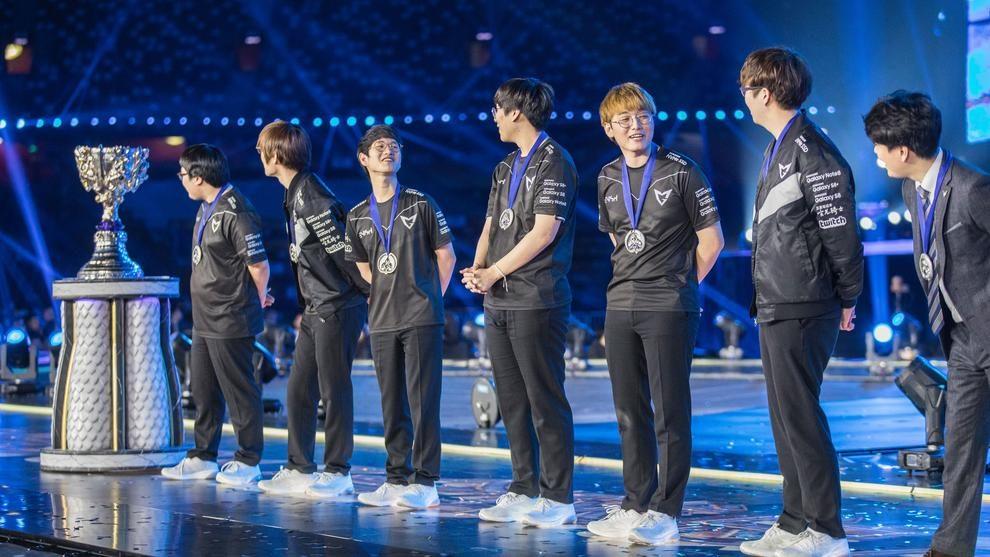 Il Team Samsung Galaxy, vincitore della Finale