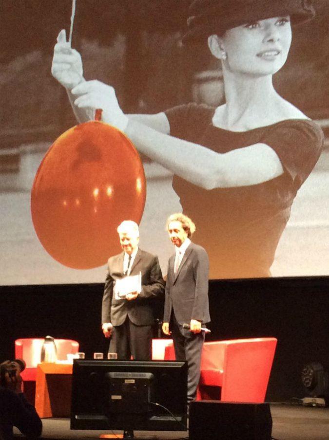 """David Lynch premiato alla Festa di Roma: """"Fellini mi disse che era triste perché i giovani stavano perdendo l'amore per il cinema"""""""